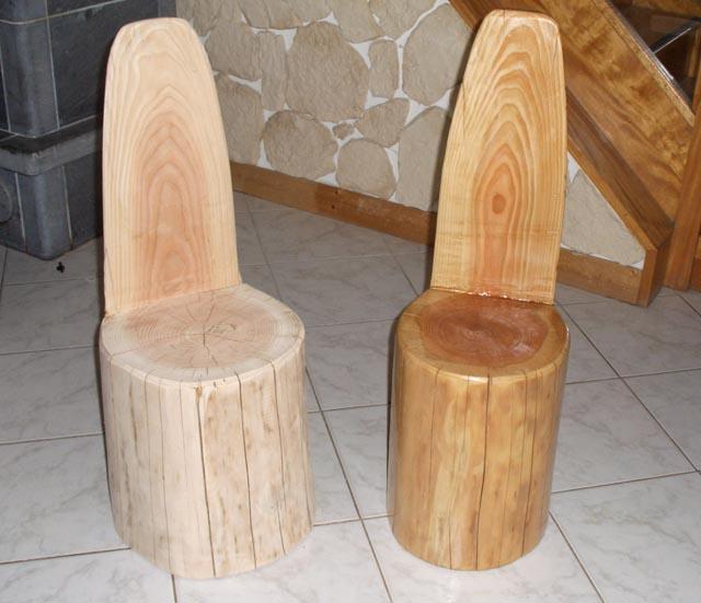 mobilier en rondin mobiliers et objets en rondin pin douglas. Black Bedroom Furniture Sets. Home Design Ideas