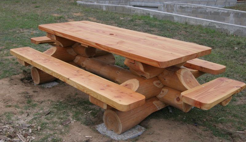 Plan table de jardin avec banc des id es int ressantes pour la conception de des for Plan de banc de jardin